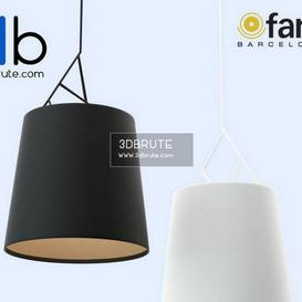 FARO TREE Black & White pendant Ceiling light