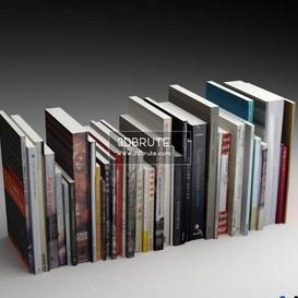 books low poly
