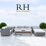 RH Malibu Collection sofa 80