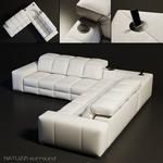 NATUZZI Surround sofa 15