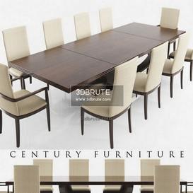Century DINING  DARK WOOD