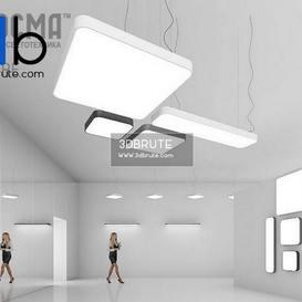 DORE 3d max Ceiling light