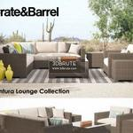 Crate & Barrel Ventura Collection Set I sofa 95
