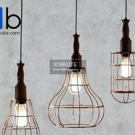 Wire s Ceiling light