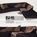 B&B italia bend sofa 99