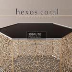 Hexos Coral by Elvin Shirinov Table & chair 281