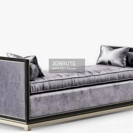 LuxDeco_Bronze_Chaise_Vlll_RGB_ Ottoman 17 - 3dsmax - Vray or Corona