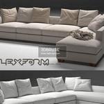 0017    eros flexform 1 sofa 115