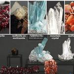 Set of Crystals 985