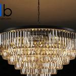 ADAMANT 7 RING CHANDELIER CH015 33 ABG Ceiling light 774