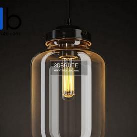 VIJAY CUPPING GLASS CHANDELIER CH090 1 Ceiling light