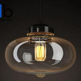 VIJAY GLASS CHANDELIER CH089 1 Ceiling light