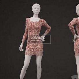 Mannequin 3dmodel