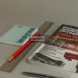 Book and objects01