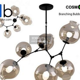 Branching Bubbles Ceiling light