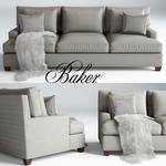 Baker Loose Back  by Barbara Barry sofa 144