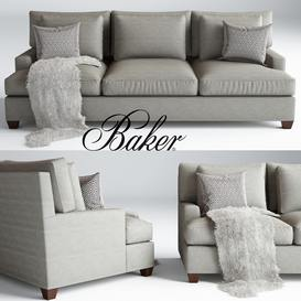 Baker Loose Back  by Barbara Barry sofa