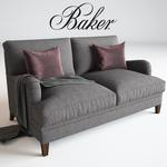 Baker Churchill Loveseat sofa 147