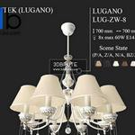 LUG ZW 8 (P A) (Z A) (N A) (BZ A) MAX Ceiling light 840