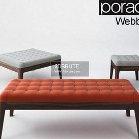 Porada_Webby Ottoman 26 - 3dsmax - Vray or Corona