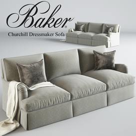 Barker Churchill Dressmaker sofa