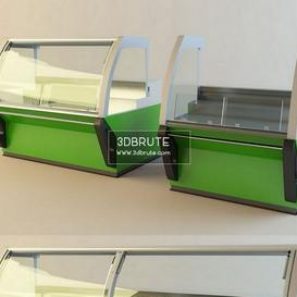 supermarket refrigerator 3dmodel