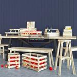 SKOGSTA Table & chair 306