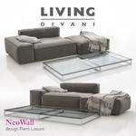 Living Divani NeoWall  03 sofa 161
