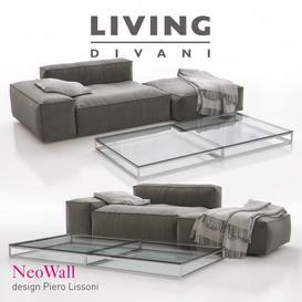 Living Divani NeoWall  03 sofa