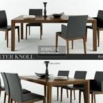 walter knoll andoo chear Table & chair 307