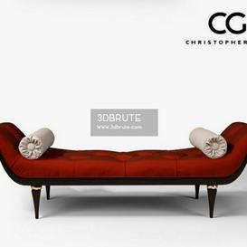 ChristopherGuy 60-0249 Corella Ottoman 27 - 3dsmax - Vray or Corona