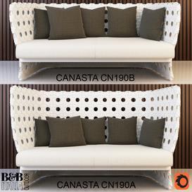 B&B Italia Canasta CN190A CN190B sofa
