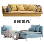 IKEA SÖDERHAMN 3 seater  and a daybed sofa 182