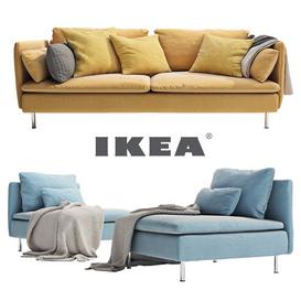 IKEA SÖDERHAMN 3 seater  and a daybed sofa
