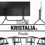 Kristalia Poule and Compas Table & chair 314