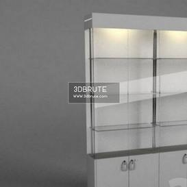 display cabinet shop 3dmodel