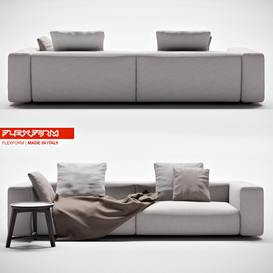 flexform lario sofa