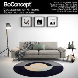 Boconcept Indivi 2 Seater  with full scene sofa
