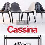 Cassina Caprice LC6 s 2011  vray Table & chair 332