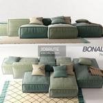 Bonaldo Peanut P sofa 239