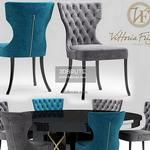 vittoriafrigerio Adda Capitonne Table & chair 353
