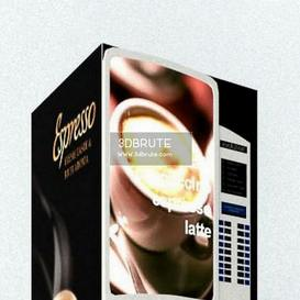 Coffee Vending Machine 3dmodel