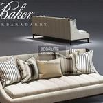 Baker  Tipton Tufted sofa 314