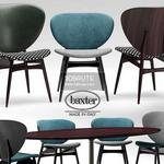baxter ALVARO Table & chair 358