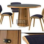 Container  Bodhi with Linoak Top Table & chair 359