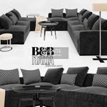 DIVES SOLATIUM   Collection BLACK sofa 328