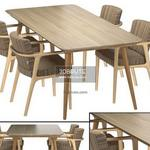 Zio Dining Table & chair 367