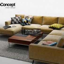 Boconcept Carlton2 sofa