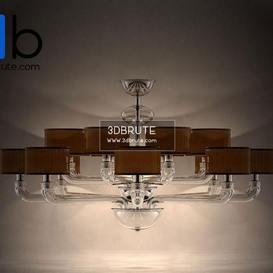 Barovier Babylon 5599 16 Ceiling light