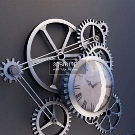 Clock steampunk 2011